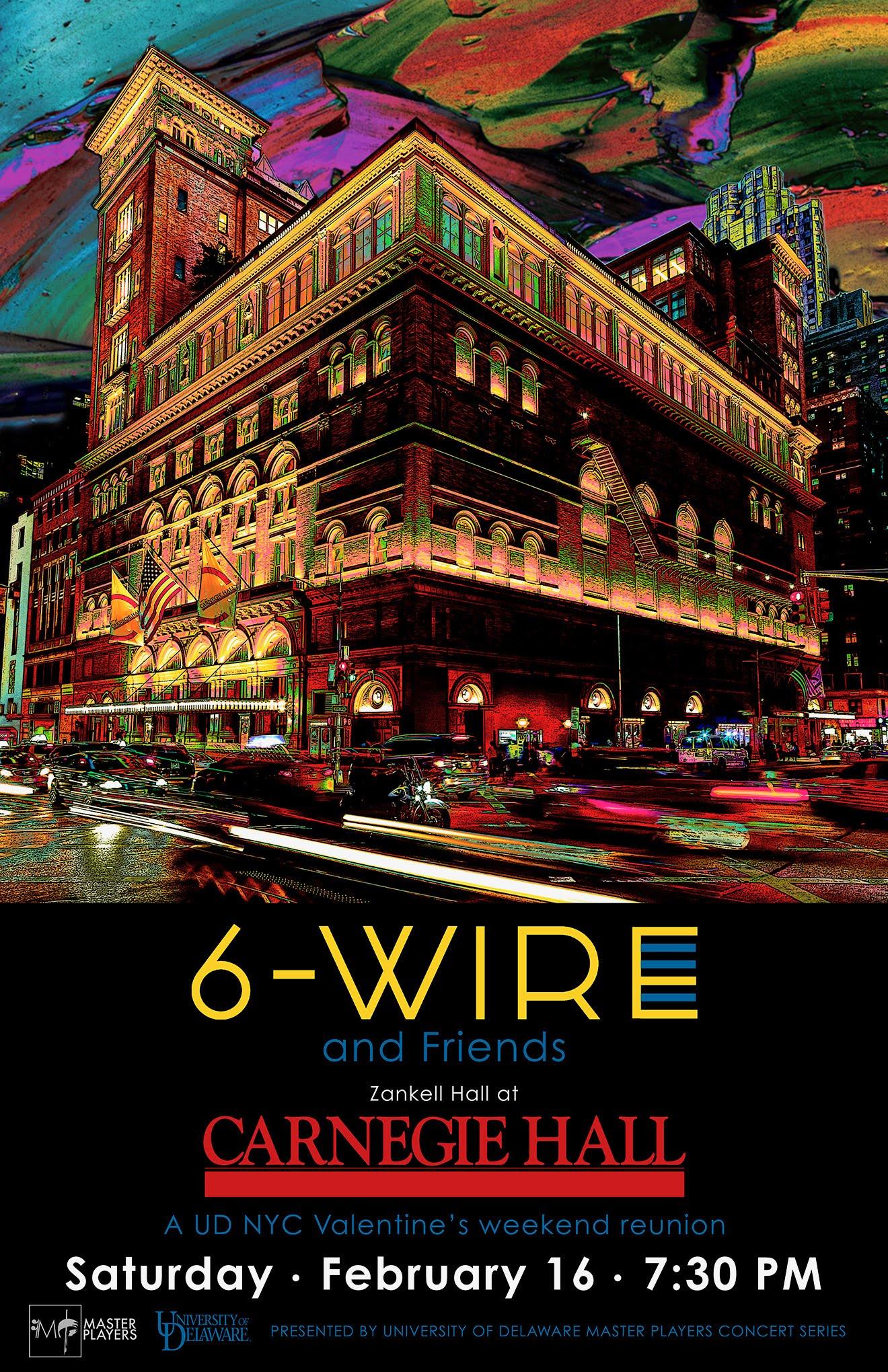 Carnegie Hall Calendar February 2019 Carnegie Hall Debut, Feb. 16th! | 6 wire